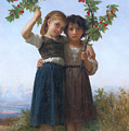 The Cherry Branch by William-Adolphe Bouguereau