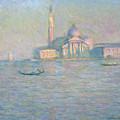 The Church Of San Giorgio Maggiore by Claude Monet