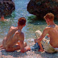 The Critics by Henry Scott Tuke