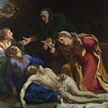 The Dead Christ Mourned The Three Maries by PixBreak Art