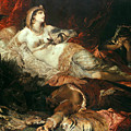 The Death Of Cleopatra by Hans Makart