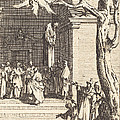 The Death Of Judas by Jacques Callot