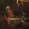 The Disciples At Emmaus by Eugene Delacroix