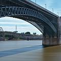 The Eads Bridge by Emil Davidzuk