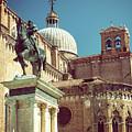 The Equestrian Statue Of Bartolomeo Colleoni In Venice by Jaroslav Frank