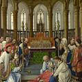 The Exhumation Of Saint Hubert by Rogier van der Weyden