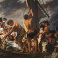 The Ferry Boat To Antwerp by Jacob Jordaens