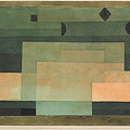 The Firmament Above The Temple by Paul Klee