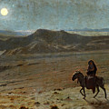 The Flight Into Egypt by Jean-Leon Gerome