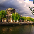 The Four Courts In Reconstruction 2 by Alex Art and Photo