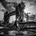 The Girl And The Dolphin - London by Pixabay