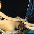 The Grand Odalisque by Jean Auguste Dominique Ingres