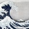 The Great Wave of Kanagawa by Hokusai