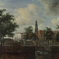 The Haarlem Lock Amsterdam by PixBreak Art