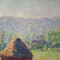 The Haystacks by Claude Monet