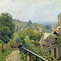 The Heights At Marly by Alfred Sisley