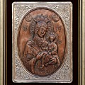 The Holly Mother With Jesus Christ by Netka Dimoska