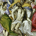 The Holy Trinity by El Greco