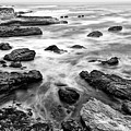 The Jagged Rocks And Cliffs Of Montana De Oro State Park by Jamie Pham