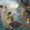 The Judgement Of Paris by Eduard Veith
