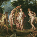The Judgment Of Paris by Peter Paul Rubens