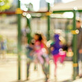 The Kids At The Playground During Day In The City Of Los Angeles by Eiko Tsuchiya