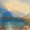 The Lake Of Zug by Joseph Mallord William Turner