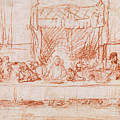 The Last Supper, After Leonardo Da Vinci by Rembrandt