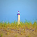 The Lighthouse At Cape May by Bill Cannon