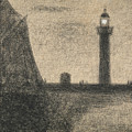 The Lighthouse At Honfleur by Georges-Pierre Seurat