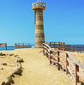 The Lighthouse In Salinas, Ecuador by Marek Poplawski