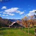 The Log Barn by Teena Bowers