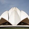 The Lotus Temple In New Delhi by Aivar Mikko