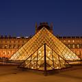 The Louvre Art Museum by Anastasy Yarmolovich