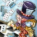 The Mad Hatter by Lucia Stewart