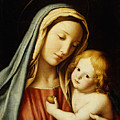 The Madonna And Child by Il Sassoferrato