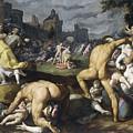 The Massacre Of The Innocents, 1590 by Cornelis Cornelisz Van Haarlem
