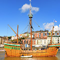 The Matthew In Bristol Harbour by Colin Rayner