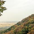 The Mountain View At The Yoro Waterfall In Gifu, Japan, November by Eiko Tsuchiya