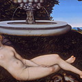 The Nymph Of The Fountain by Lucas Cranach the Elder