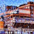 The Old C And H Pure Cane Sugar Plant In Crockett California . 5d16769 by Wingsdomain Art and Photography