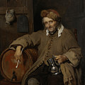 The Old Drinker by Gabriel Metsu