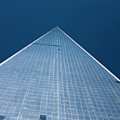 The One World Trade Centre Or Freedom Tower New York City Usa by Michael Walters