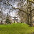 The Pagoda Battersea Park London by David Pyatt