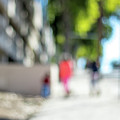 The People Walking On The Street During Day In The City Of Los A by Eiko Tsuchiya
