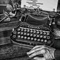 The Writer's Desk  by Steven Digman