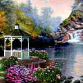 The Prayer Garden 3 by Ron Chambers