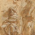 The Prophets Hosea And Jonah by Raphael