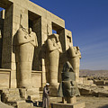 The Ramesseum by Michele Burgess