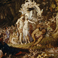 The Reconciliation Of Oberon And Titania by Sir Joseph Noel Paton
